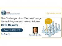 The Challenges of an Effective Change Control Program 2017