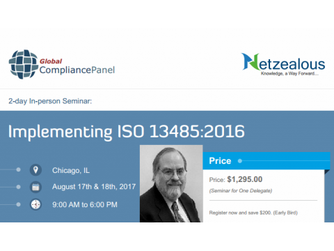 Quality Management System ISO 13485- 2017