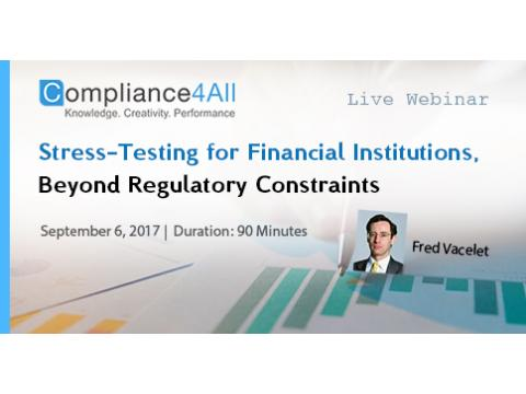 Stress-Testing for Financial Institutions - 2017