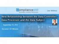Relationship between the Data Controller and the Data Subject