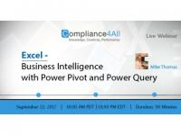 Excel - Functionality, Power Query is a lot Faster