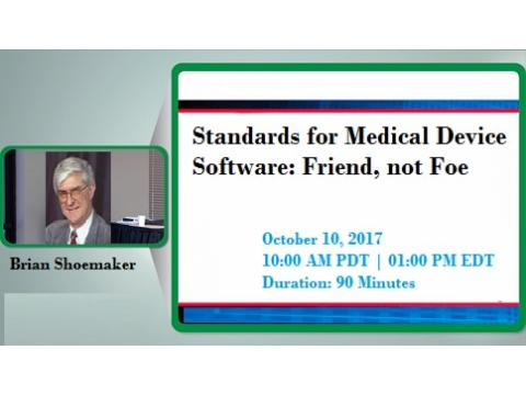 What are Standards for Medical Device Software -2017