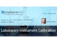 Laboratory Have an Instrument Calibration Program -2017