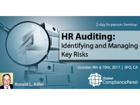 HR Auditing Identifying and Managing Key Risks 2017