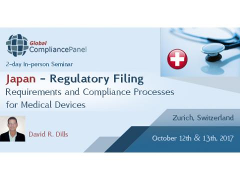 Regulatory Filing Requirements and Compliance Processes for Medical Devices 2017