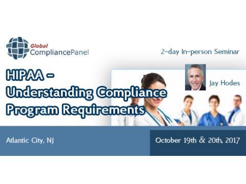HIPAA - Understanding Compliance Program Requirements 2017