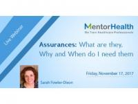 Assurances: What are they, Why and When do I need them