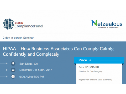 HIPAA - How Business Associates Can Comply Calmly, Confidently and Completely 2017