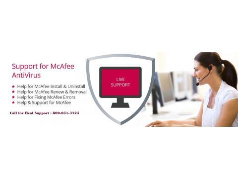 McAfee Antivirus Customer Support Number