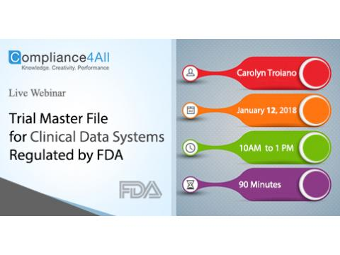 Clinical Data Systems Regulated by FDA