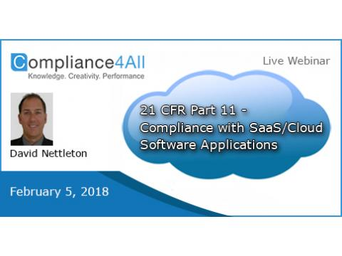 How to Compliance with SaaS/Cloud Software Applications