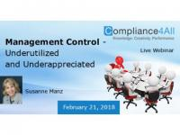 Underutilized and Underappreciated in Management Control