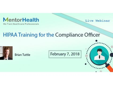 HIPAA Training for the Compliance Officer