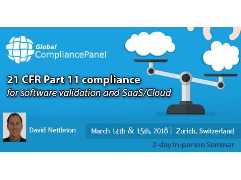 21 CFR Part 11 Compliance Checklist- FDA Software Validation