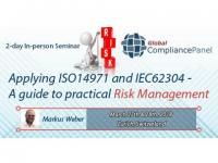 ISO 14971 Risk Management Training-IEC 62304 Risk Management