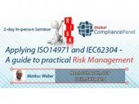 ISO 14971 Risk Management Training-IEC 62304 Risk Management