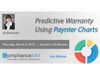 How to Develop Predictive Warranty Using Paynter Charts
