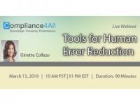 How to Manage and Improve Human Reliability