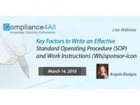 Write an Effective Standard Operating Procedure