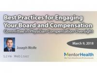 Physician Compensation Oversight  Best Practices