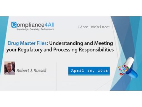 Understanding and Meeting your Regulatory & Processing Responsibilities
