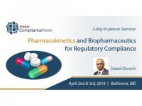Pharmacokinetics and Biopharmaceutics Course 2018