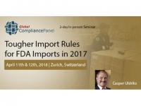 FDA Export Program Course 2018