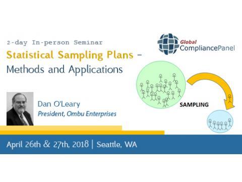 Statistical Sampling Plans - Seminar 2018 Methods and Applications