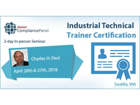 Industrial Technical Trainer Certification Courses 2018