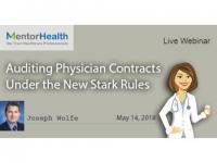 Auditing Physician Contracts Under the New Stark Rules 2018