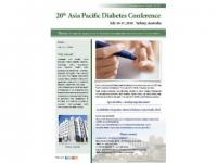 20th Asia Pacific Diabetes Conference