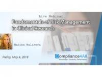 Fundamentals of Risk Management in Clinical Research 2018