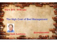 High Cost of Bad Management