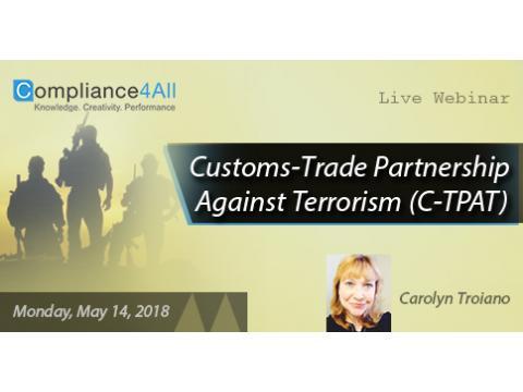 C-TPAT - Trade Partnership Against Terrorism 2018