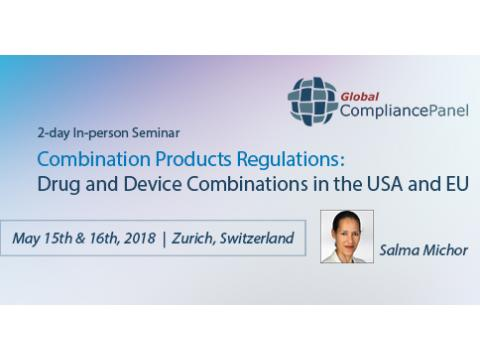 Combination Products Regulations Course | USA & EU Seminar 2018