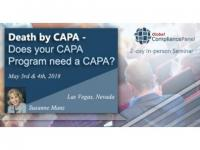 Does your CAPA Program Need a CAPA | Seminar CAPA 2018