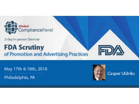 Promotion & Advertising Practices 2018 under FDA Observation