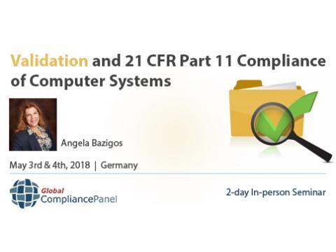 FDA 21 CFR Part 11 Compliance - Validation Seminar 2018