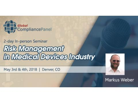 Risk Management Standard in Medical Devices Seminar 2018
