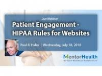 Webinar On HIPAA Rules for Web Sites and Social Media