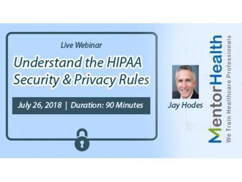 Webinar On HIPAA - Social Media, Marketing & Websites