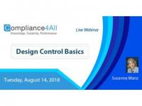Design Control is Critical to Product Quality