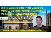 Clinical Evaluation Report for Europe and MEDDEV Expectations Seminar