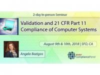 Validation and 21 CFR Part 11 Compliance of Computer Systems Seminar