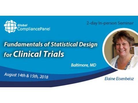 Fundamentals of Statistical Design for Clinical Trials Seminar