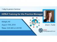 HIPAA Training for the Practice Manager Seminar