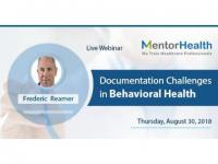 Documentation Challenges in Behavioral Health