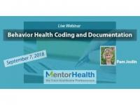 Webinar On Behavior Health Coding and Documentation