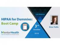 HIPAA for Dummies: Boot Camp