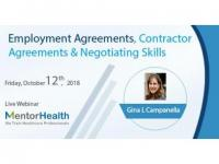 Employment Agreements, Contractor Agreements & Negotiating Skills